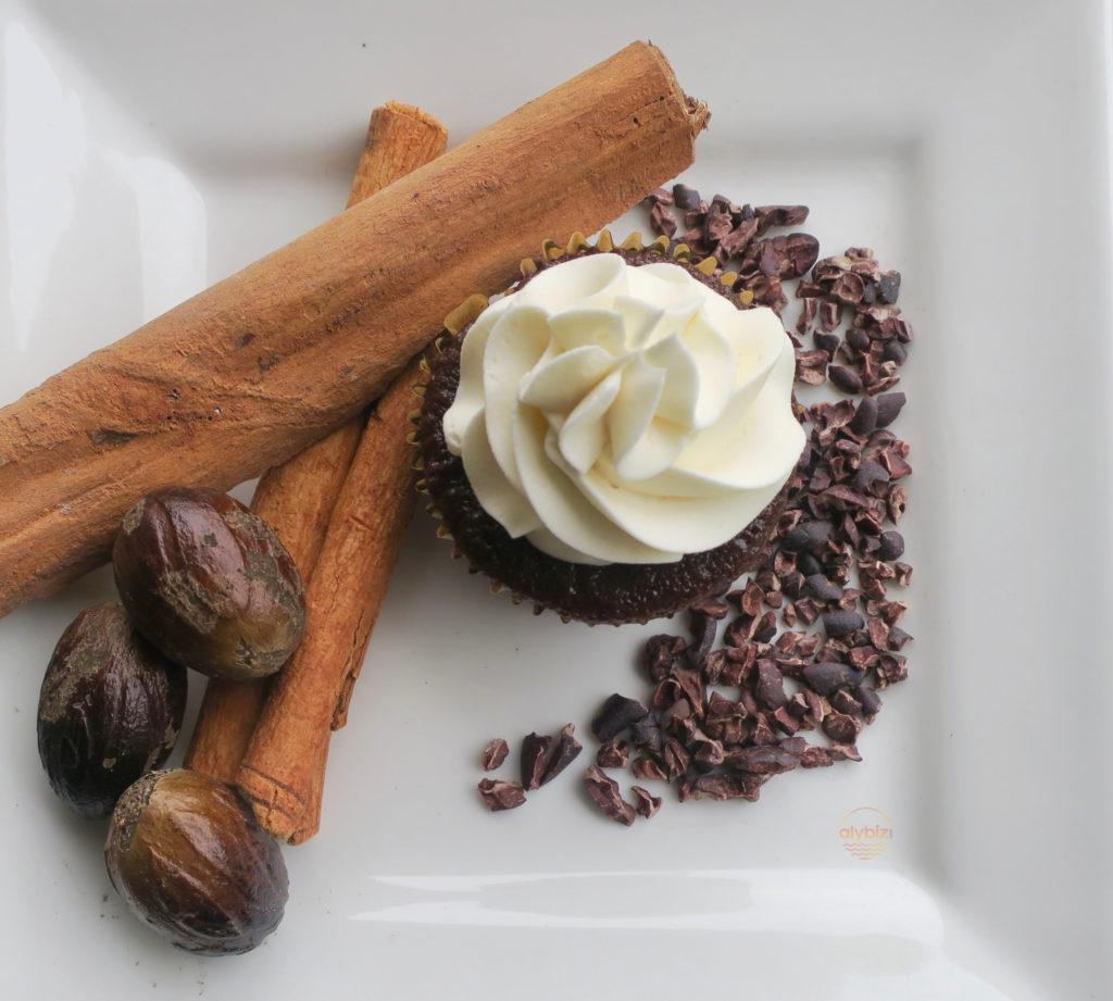 Grenada inspired cupcake