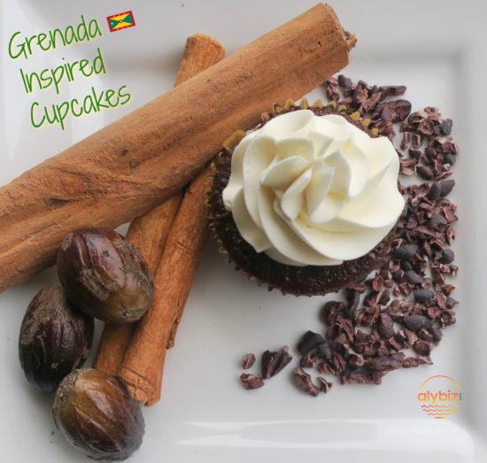 Grenada inspired cupcakes