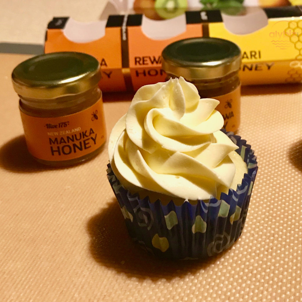 New Zealand inspired cupcakes